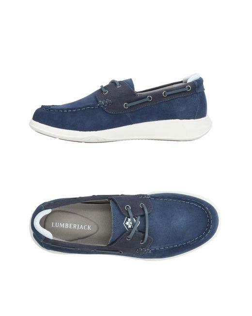 Lumberjack - Blue Loafer for Men - Lyst