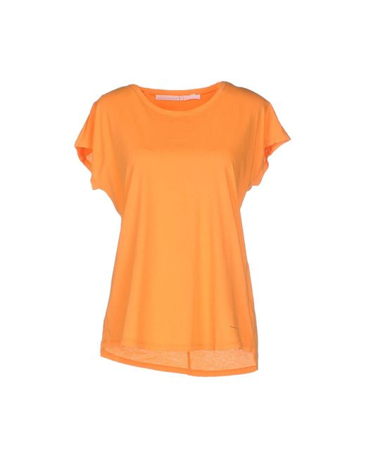 Schumacher - Orange T-shirt - Lyst