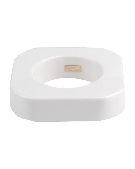 DSquared²   White Bracelet   Lyst