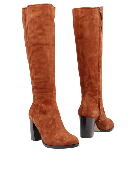 The Seller | Brown Boots | Lyst