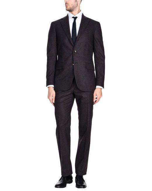 Boglioli - Gray Suit for Men - Lyst