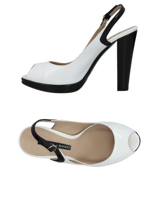 Norma J. Baker - White Sandals - Lyst