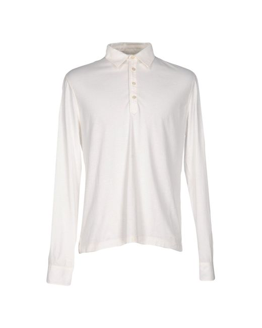 C P Company - White Polo Shirts for Men - Lyst