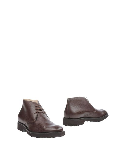 Gianfranco Lattanzi   Brown Ankle Boots for Men   Lyst