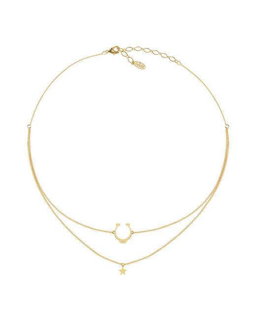 Astrid & Miyu | Metallic Necklace | Lyst