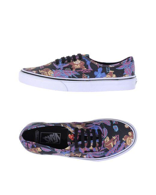 Vans - Black Low-tops & Sneakers - Lyst