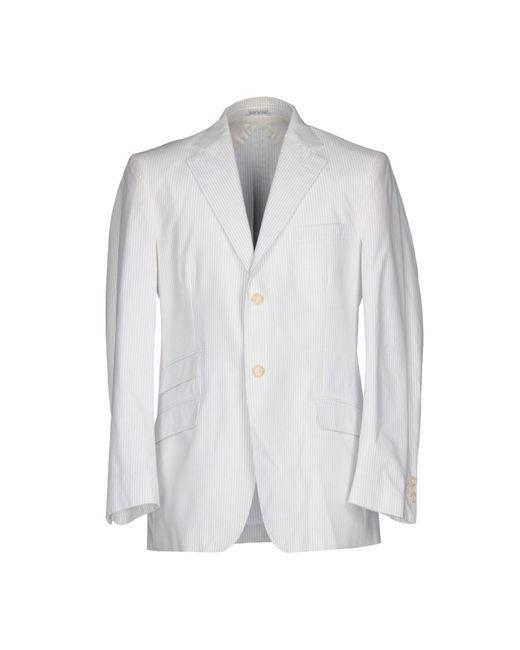 Montezemolo - White Blazers for Men - Lyst