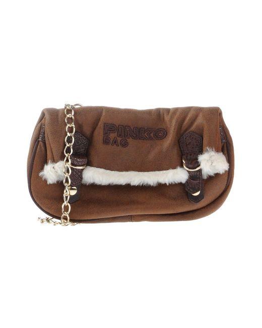 Pinko - Brown Handbag - Lyst