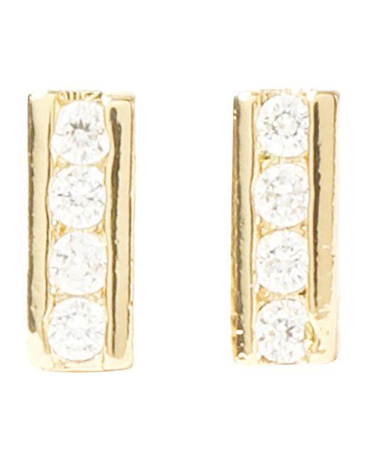 Kevia - Metallic Earrings - Lyst