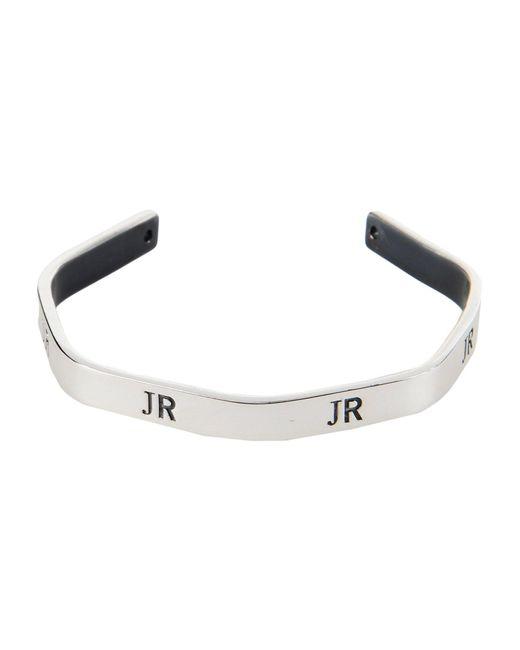 John Richmond - Metallic Bracelets - Lyst