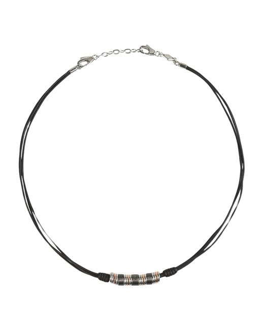 Fossil | Black Necklace | Lyst