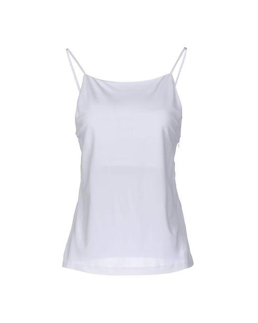Calvin Klein | White Top | Lyst
