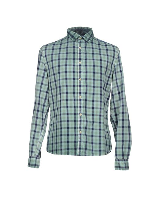 Guess - Green Shirts for Men - Lyst