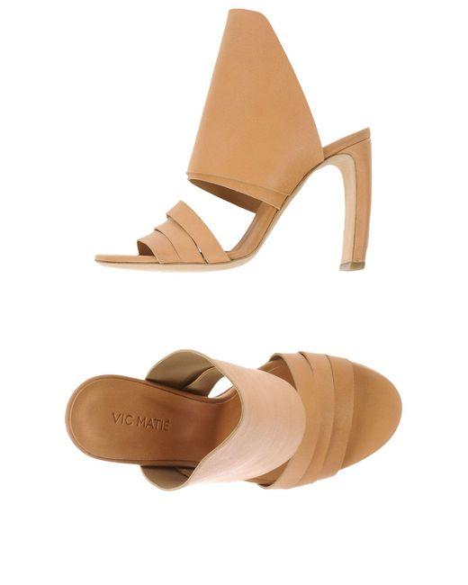 Vic Matié - Natural Sandals - Lyst