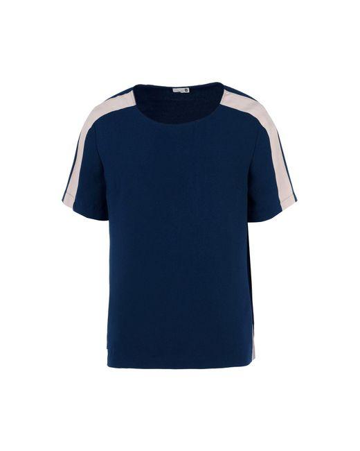 8 - Blue Blouse - Lyst
