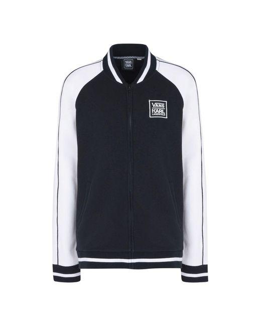 Vans - Black Sweatshirt - Lyst