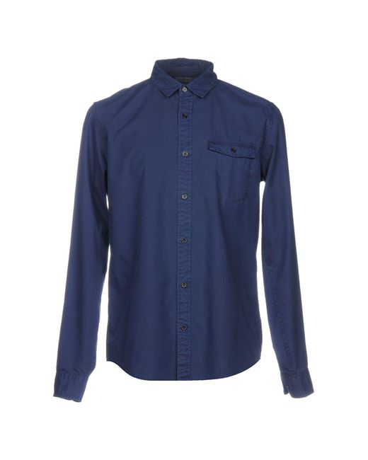 Calvin Klein Jeans - Blue Shirt for Men - Lyst