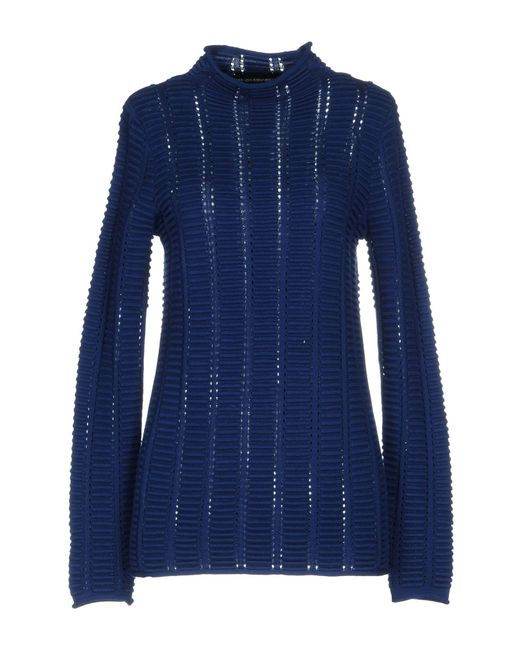 French Connection - Blue Turtlenecks - Lyst