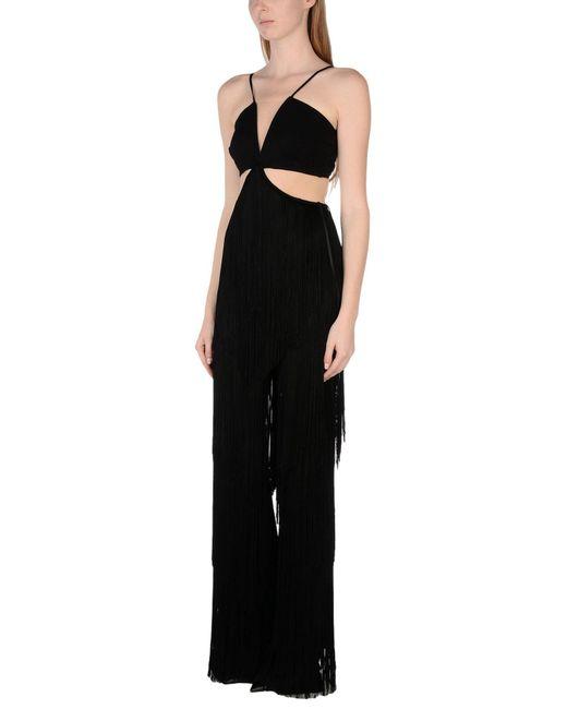 Elisabetta Franchi - Black Jumpsuit - Lyst