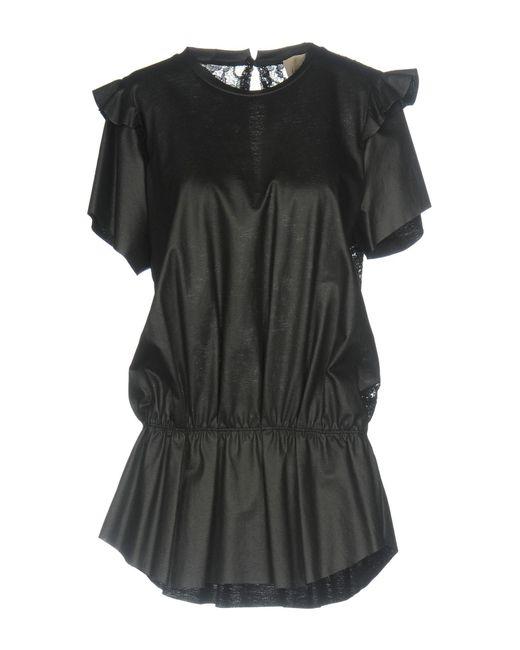 Nude - Black T-shirts - Lyst