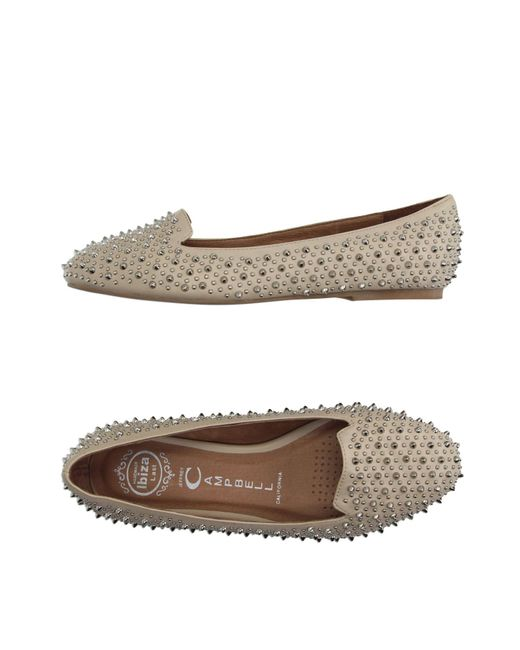 Jeffrey Campbell - Natural Loafers - Lyst