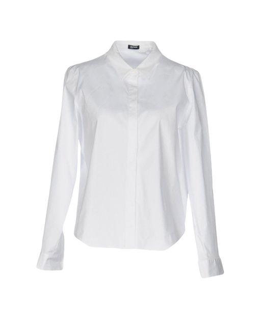 Jil Sander Navy - White Shirt - Lyst