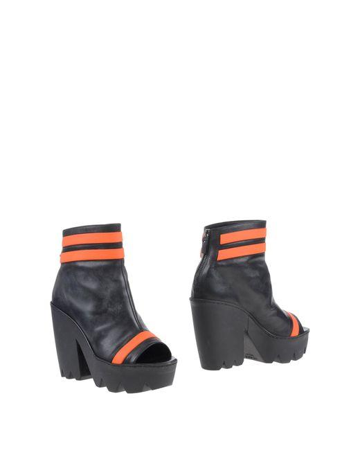 Vic Matié | Black Ankle Boots | Lyst