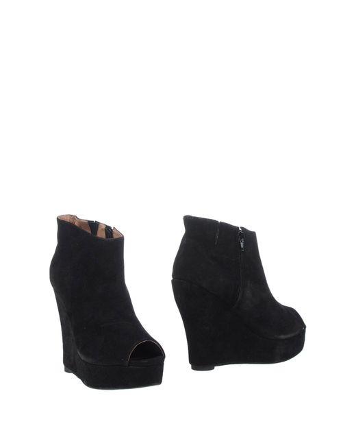 Jeffrey Campbell | Black Shoe Boots | Lyst