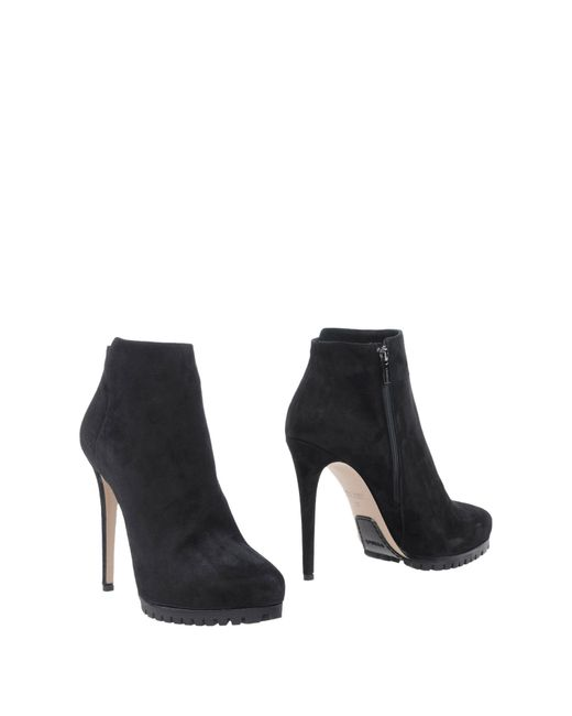 Le Silla | Black Ankle Boots | Lyst