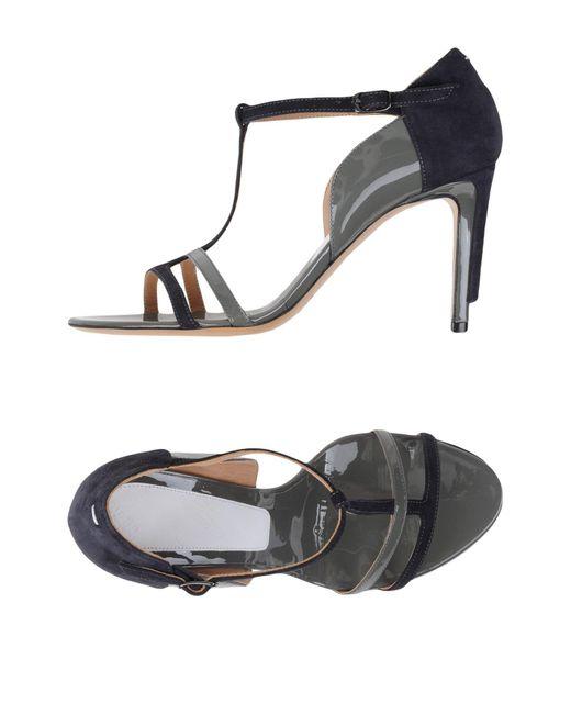 Maison Margiela | Gray Sandals | Lyst