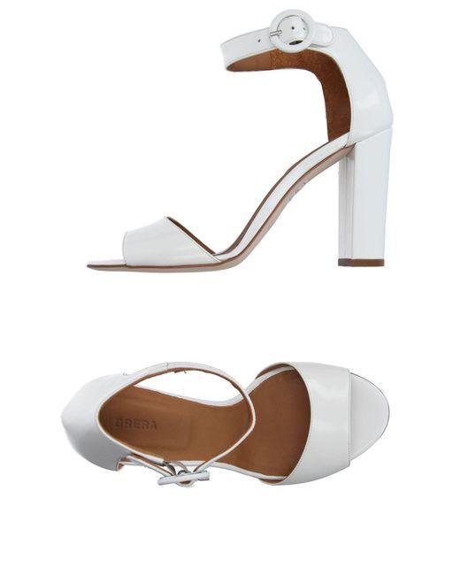 Brera Orologi   White Sandals   Lyst