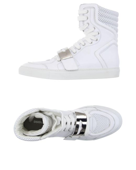 DSquared² | White High-tops & Sneakers for Men | Lyst