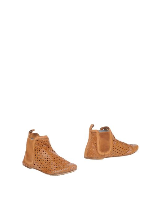 Pedro Garcia | Brown Ankle Boots | Lyst