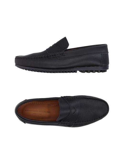 Alessandro Dell'acqua | Black Loafer for Men | Lyst