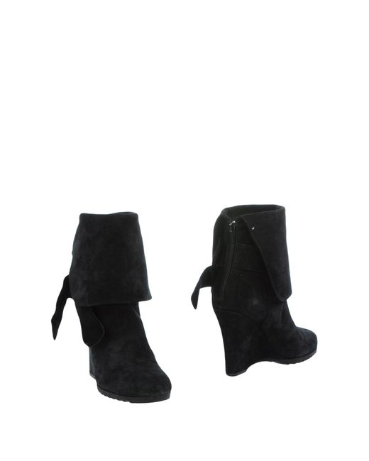 Juicy Couture | Black Ankle Boots | Lyst