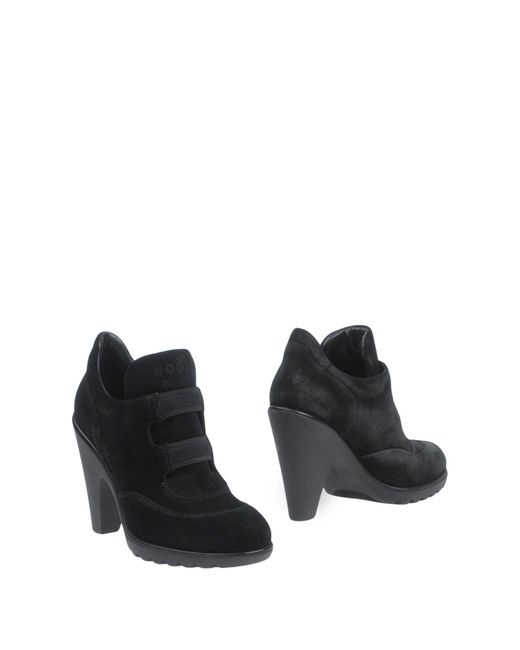 Hogan by Karl Lagerfeld   Black Shoe Boots   Lyst