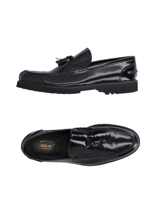 Bruno Verri | Black Loafer for Men | Lyst