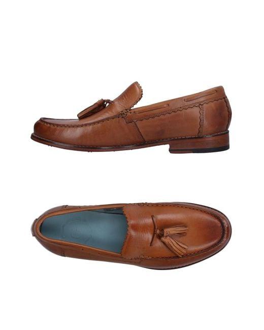 GRENSON   Brown Loafer for Men   Lyst