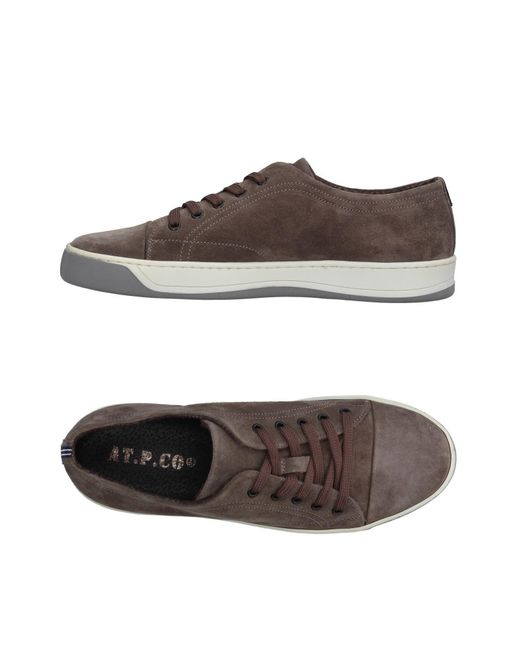 AT.P.CO | Gray Low-tops & Sneakers | Lyst