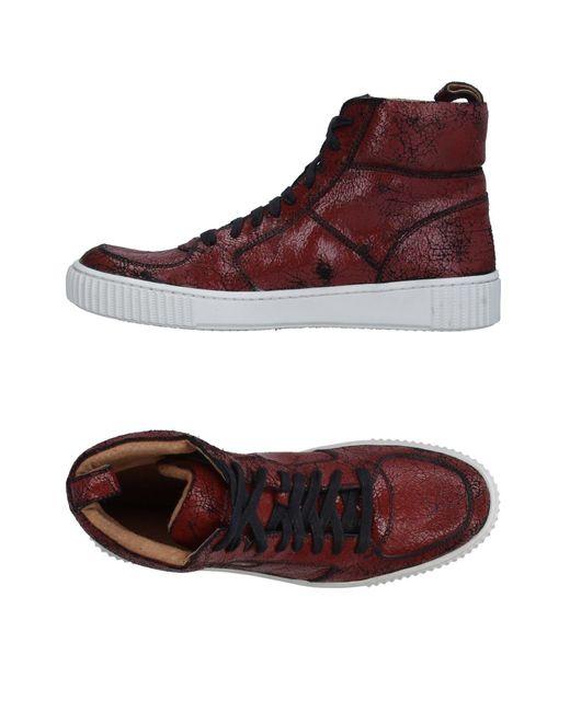John Varvatos | Red High-tops & Sneakers for Men | Lyst