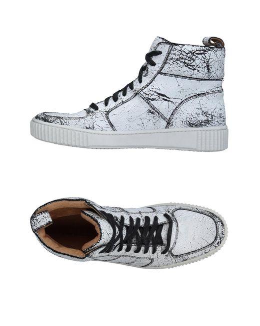 John Varvatos | White High-tops & Sneakers for Men | Lyst