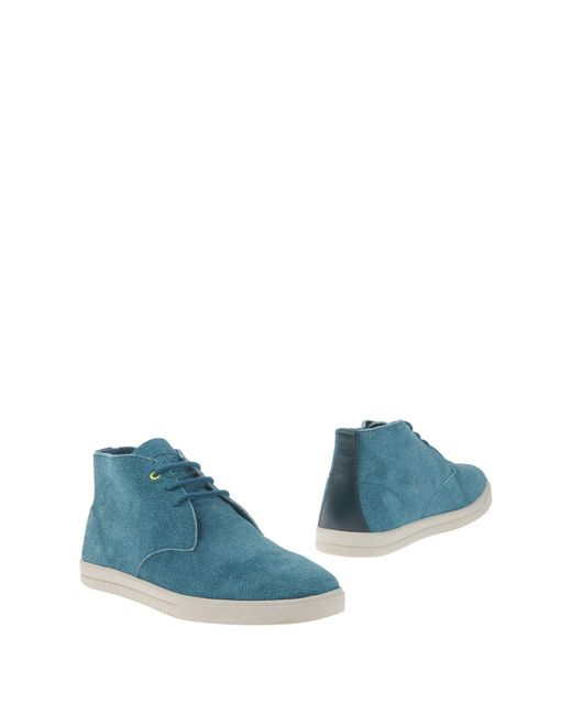 CLAE   Blue Ankle Boots for Men   Lyst