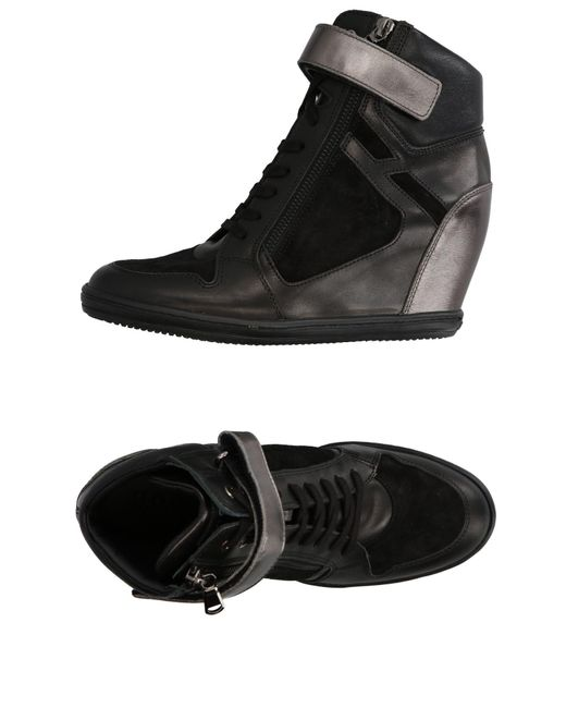 Hogan Rebel | Black High-tops & Sneakers | Lyst