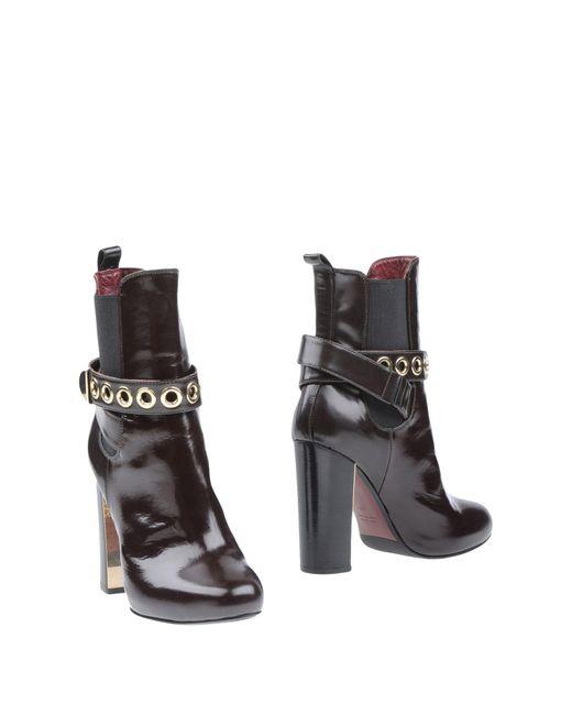 Lella Baldi | Multicolor Ankle Boots | Lyst