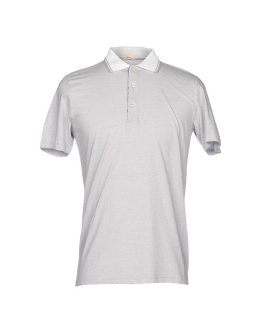 Altea - Gray Polo Shirt for Men - Lyst