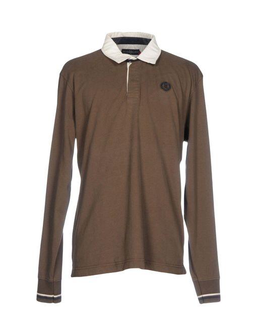 Henri Lloyd | Brown Polo Shirt for Men | Lyst