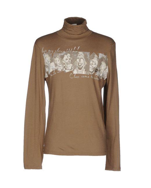 Class Roberto Cavalli | Natural T-shirt for Men | Lyst