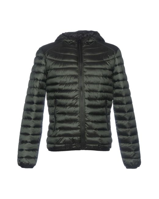 Romeo Gigli - Green Synthetic Down Jacket for Men - Lyst