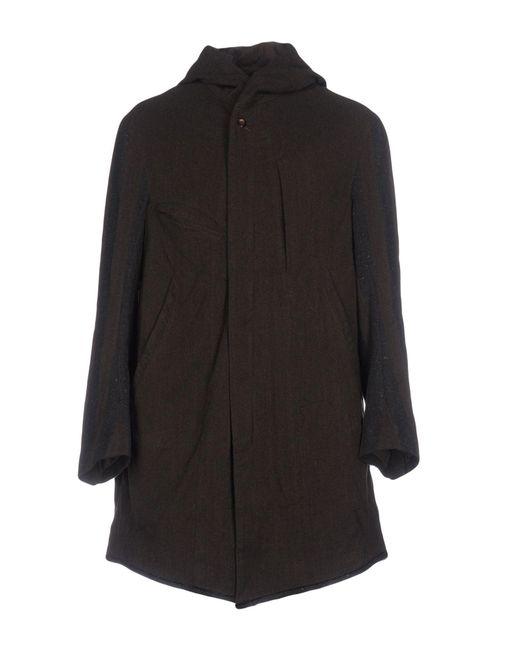 Ziggy Chen - Black Overcoats for Men - Lyst