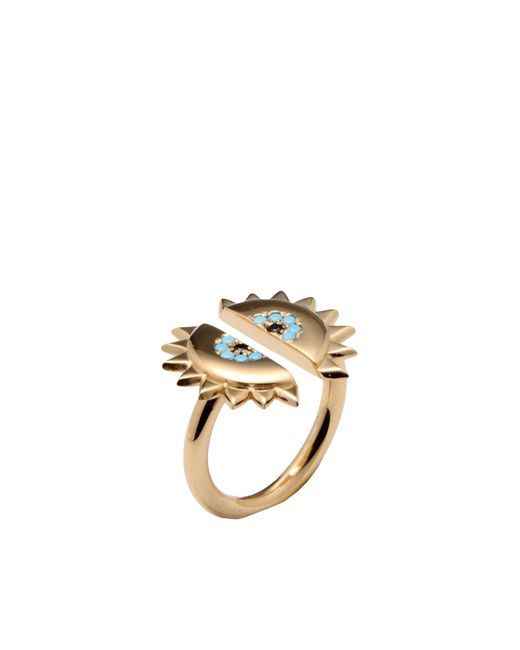 Ileana Makri | Metallic Ring | Lyst